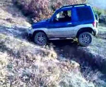 Pajero Pinin Off-road