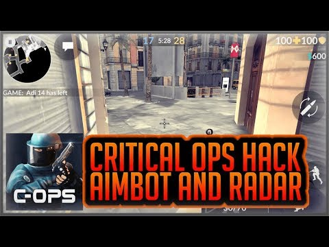 Critical Ops 0.9.8 f551 Radar + Aimbot Hack(APK+OBB)  #Smartphone #Android