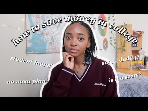 being broke 101: how to SAVE money in college