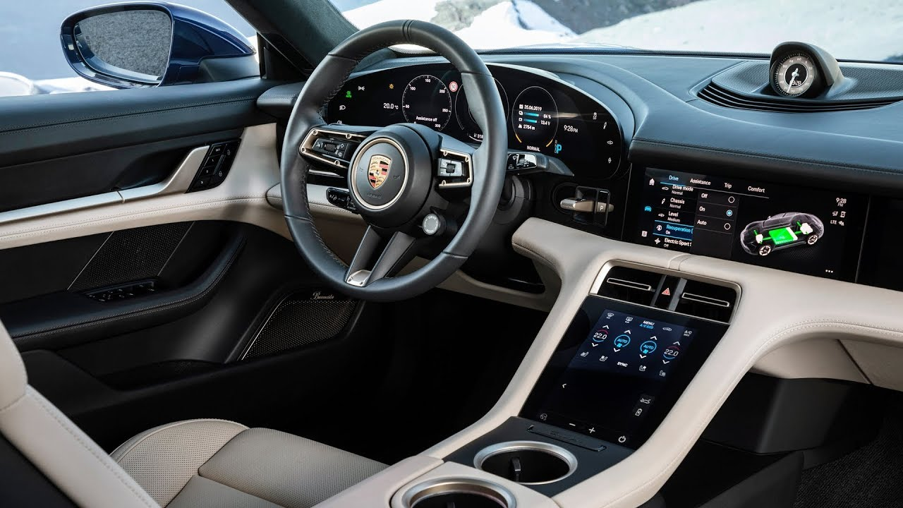 2020 Porsche Taycan Interior Youtube