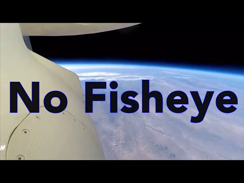 One continuous shot to space NO FISHEYE NO FLAT EARTH thumbnail