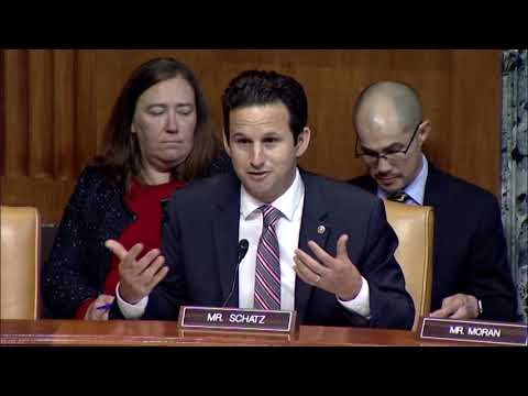 Schatz Questions NASA Administrator Bridenstine On His Climate Change Views