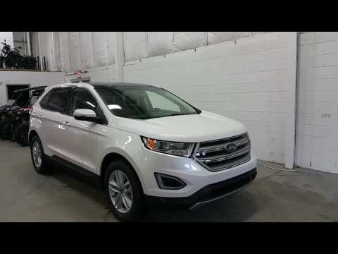 2017 Ford Edge SEL W/ Sunroof, Alloy Wheels, Projection Lights Review | Boundary Ford