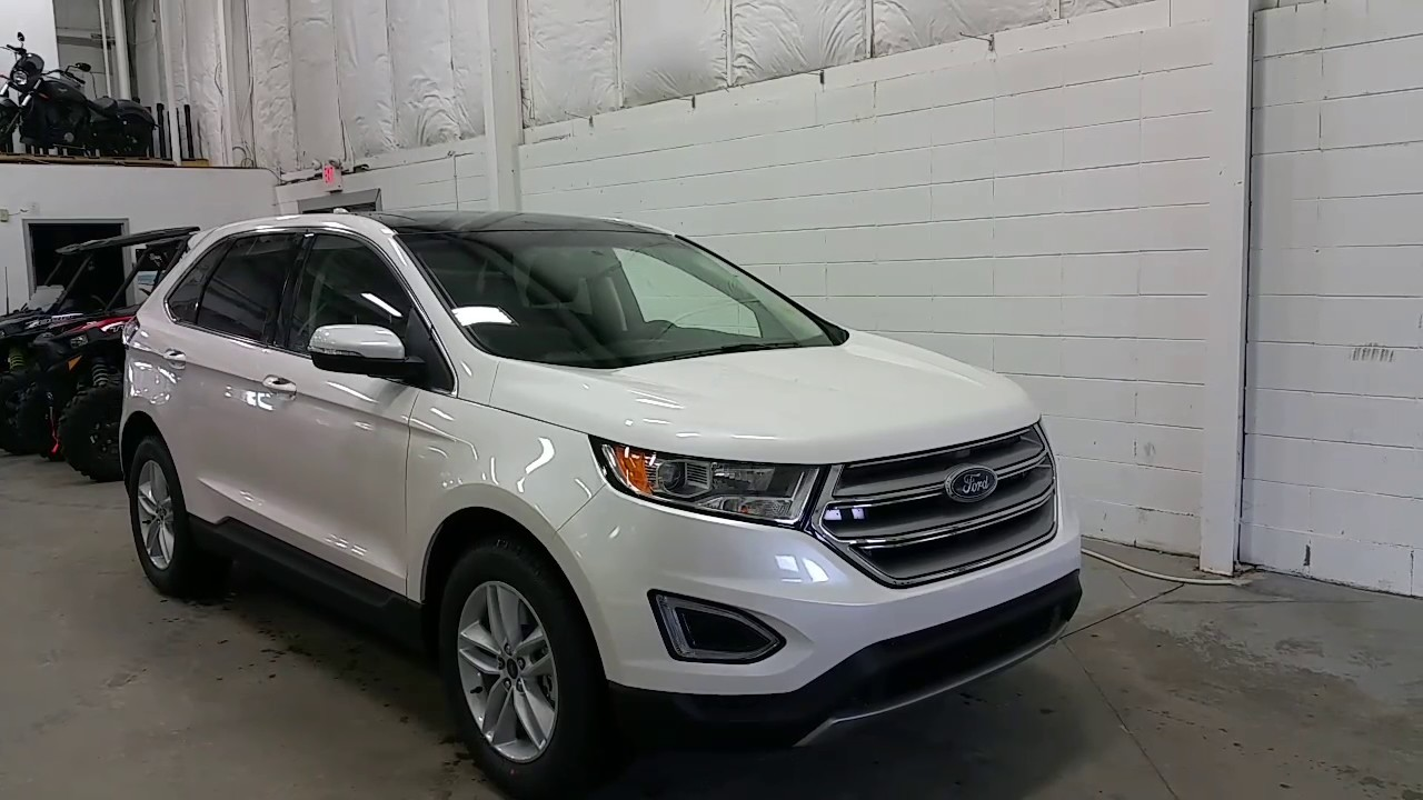 Ford Edge Sel W Sunroof Alloy Wheels Projection Lights Review Boundary Ford Youtube