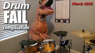 Drum FAIL compilation March 2020   RockStar FAIL