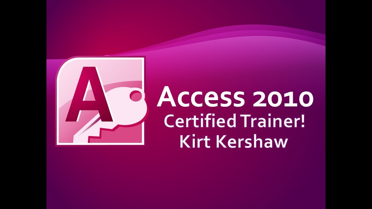Microsoft Access 2010: Compact and Repair Database