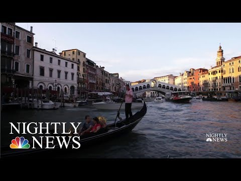 Popular Vacation Destinations Push Back Against Overtourism  NBC Nightly News