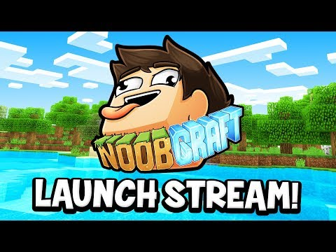 COME PLAY MINECRAFT WITH ME! (play.noobcraft.net) - Denis Minecraft Server Launch Stream!