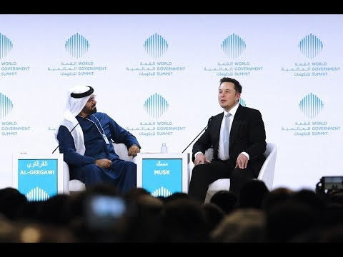 World Government Summit 2017 A Conversation with Elon Musk