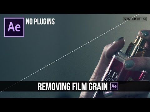 Remove Video Noise & Film Grain in After Effects   NO PLUGINS