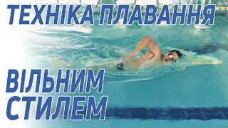 Техника плавания вольным стилем - Клуб 5 Элемент