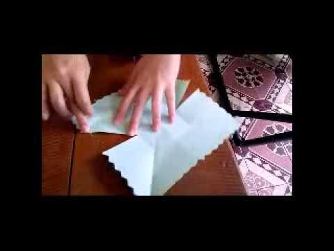 Cách làm Hoa Đăng (kiểu vuông .4 cánh ). Kieuanhle