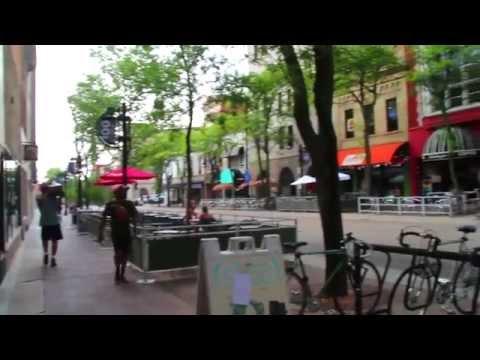 A Walk Down State Street, Madison, Wisconsin, Sans Music
