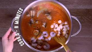 Seafood Fra Diavolo Recipe