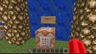 Tutorial. usar el bloque de comandos Minecraft