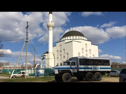 ОМОН в мечети Верхней Пышмы