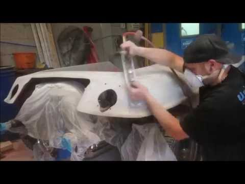 How To Prep FibreGlass, Using Polyester Primers, Sanding For Paint CELSUS ICE VW Beach\Dune Buggy