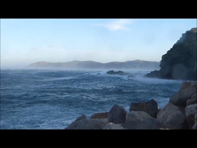 Mar de tramuntana - Llançà - Novembre 2017