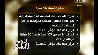 #هنا_العاصمة | مؤشرات الفساد والتنافسية في مصر