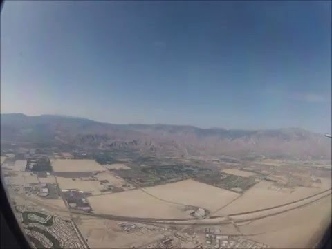 Flight to Palm Springs in 1.5 minutes