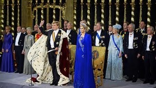 Новый король Нидерландов взошёл на трон