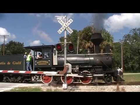 (HD) Orange Blossom Canonball Steam Engine Run 10-16-2011