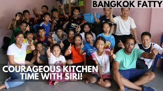 Special Courageous Kitchen Thai Recipe Session with Siri's Green Curry!