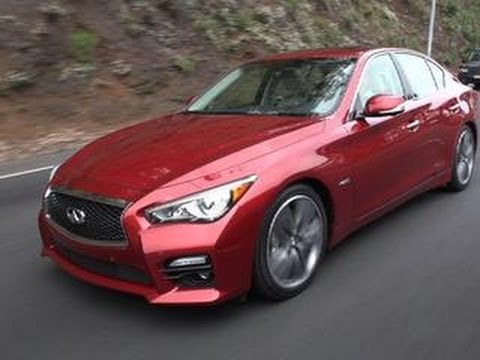 CNET On Cars 2015 Infiniti Q50S Hybrid Standout tech in a sea of Q cars Ep. 41