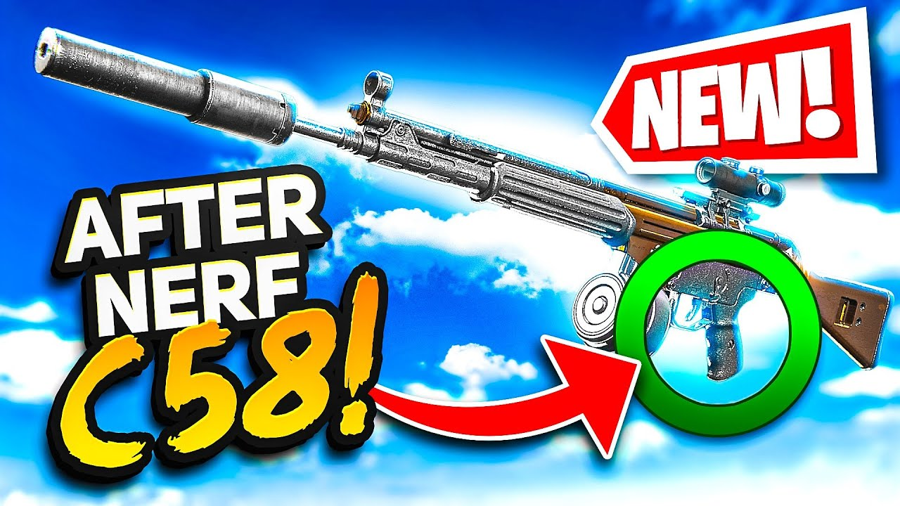 **NEW** Best C58 Build After Today's Nerf (For Advanced Warzone Players Only)
