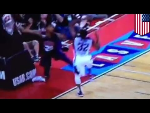 Paul George leg break: Pacers forward has Kevin Ware-like leg break in Vegas