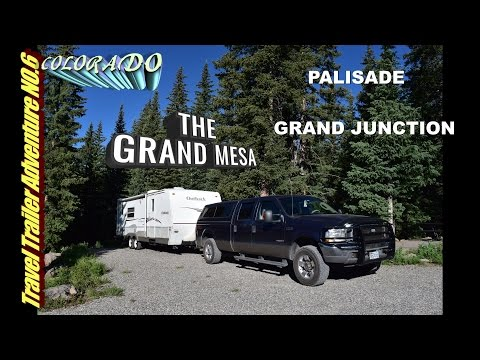 Dry camping in the Grand Mesa Colorado
