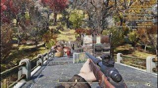 Gunner-inspired Bridge C.A.M.P Build- Fallout 76