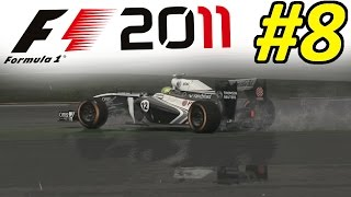 F1 2011 Career Mode Part 8: I BROKE THE GAME