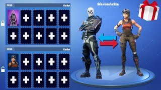 SKIN's give away + SECRET information about the new UPDATE in Fortnite!