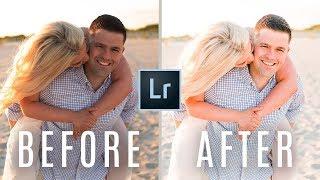 How I Edit Engagement + Wedding Photos