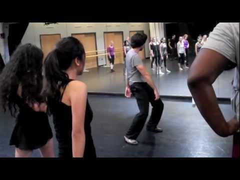 Josh Rhodes: Fosse Technique Master Class