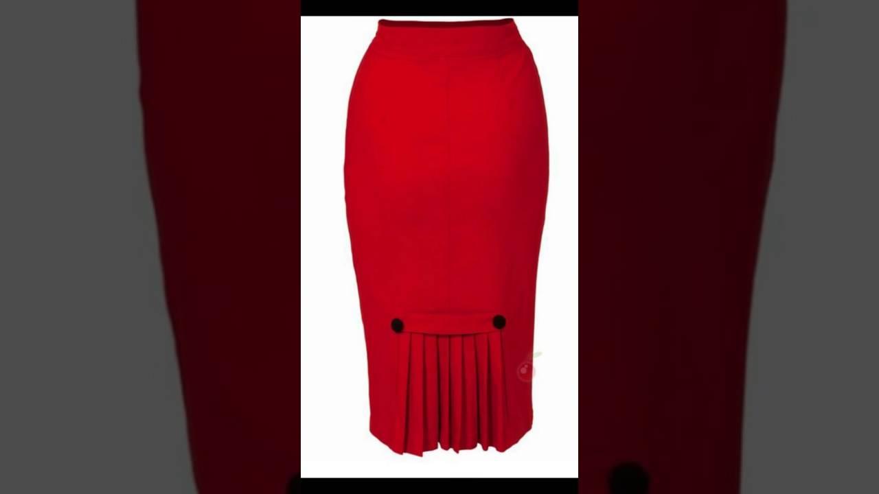 Faldas a la moda para las chicas de hoy youtube - Modelos de faldas de moda ...
