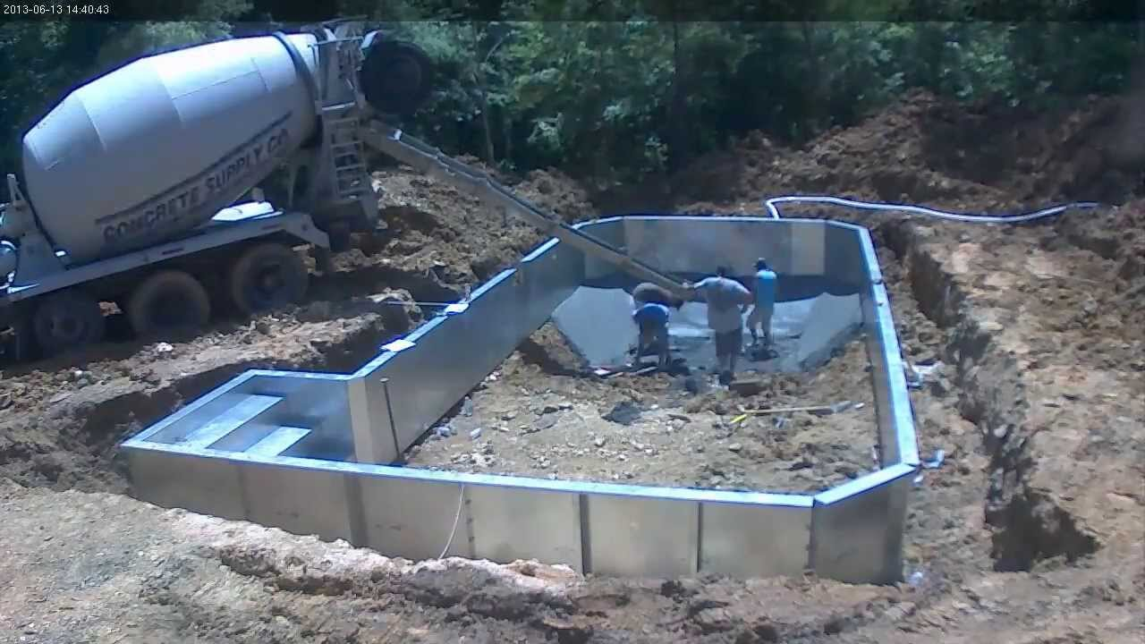 2013 grecian pool construction time lapse youtube for Swimming pool construction agreement