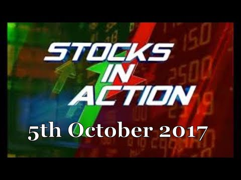 Reliance Industries Gains 1% | Top Stocks To Invest In | 5th October 2017 | CNBC Awaaz