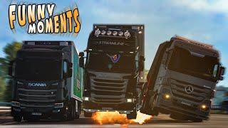 EP.#11 - Funny & Random Moments - Euro Truck Simulator 2