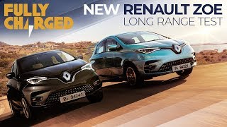 Renault Zoe 2019 - a long range road test in Sardinia | Fully Charged