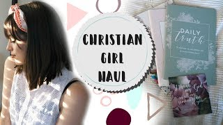 The Daily Grace Co. Haul! Bible Study Tools & Essentials! Christian Girl Haul!
