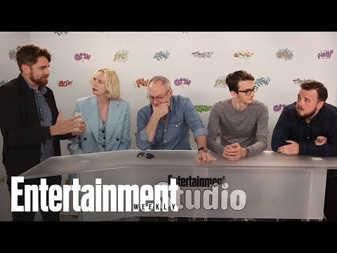 Game Of Thrones: Gwendoline Christie & Cast On Season 7 Obstacles | SDCC 2017 | Entertainment Weekly