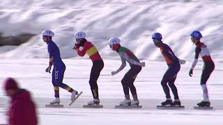 Winter Youth Olympic Games 2020 I Mass Starts Young Men, Ladies  Highlights