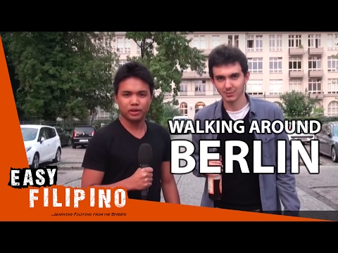 Super Easy Filipino 1 - Walking around Berlin