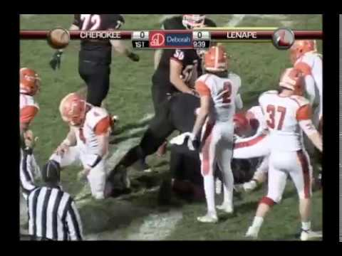 LDTV Sports: Cherokee at Lenape Football 10/28/16