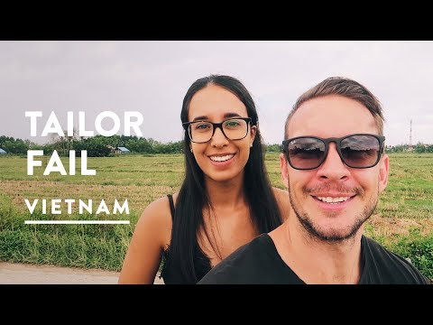 FAILED HOI AN TAILOR MI$$ION + PEANUT BUTTER BURGER | BeBe - Vietnam Travel Vlog 076, 2017