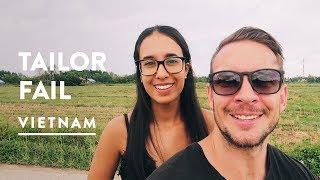 FAILED HOI AN TAILOR MI$$ION + PEANUT BUTTER BURGER | BeBe - Vietnam Travel Vlog 076, 2017