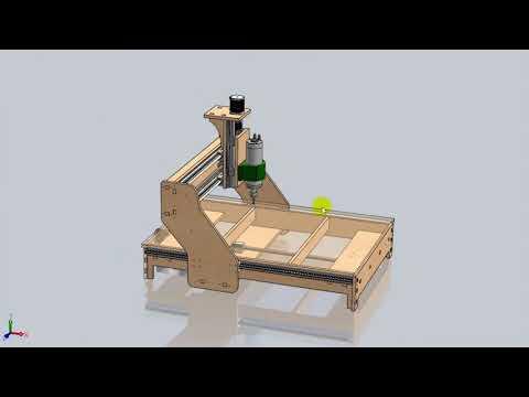 CNC Is Easy. Machine Made Of Plywood. Part 1.  ЧПУ - это просто. Станок из фанеры. Часть 1