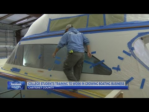 Carteret Community College works to keep jobs in local boat industry